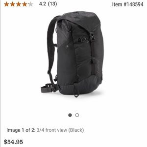 REI Co-Op Flash 22 Pack Black EUC backpack hiking